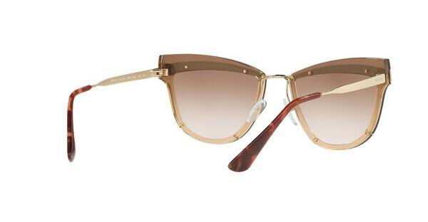 PRADA Prada Damen Sonnenbrille » PR 07US«, braun, KOF0A6 - braun/braun