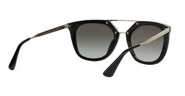 PRADA Prada Damen Sonnenbrille » PR 13QSA«, schwarz, 1AB0A7 - schwarz/grau