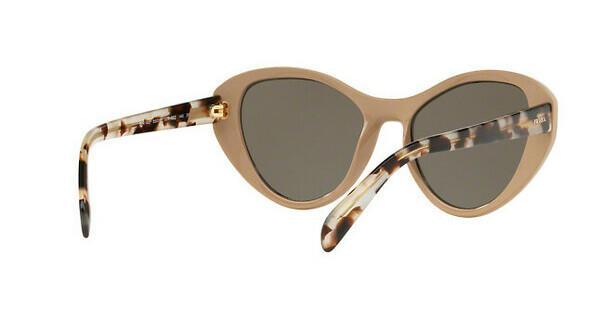 PRADA Prada Damen Sonnenbrille » PR 14US«, weiß, 02R5S2 - weiß/braun