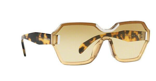 PRADA Prada Damen Sonnenbrille » PR 15TS«, weiß, VIR1G0 - weiß/gelb