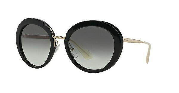 PRADA Prada Damen Sonnenbrille »CINEMA' PR 16QS«, schwarz, 1AB0A7 - schwarz/grau
