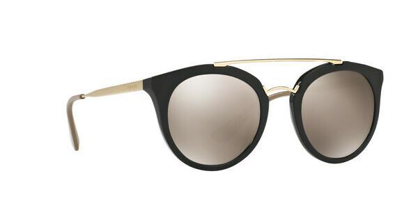 PRADA Prada Damen Sonnenbrille »CINEMA PR 23SS«, schwarz, 1AB1C0 - schwarz/gold