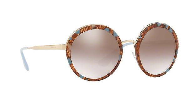 PRADA Prada Damen Sonnenbrille » PR 50TS«, blau, KJO4O0 - blau/silber