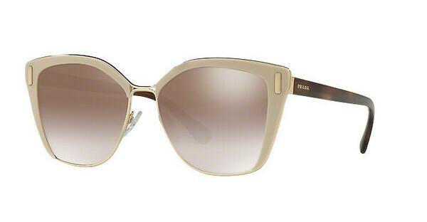 PRADA Prada Damen Sonnenbrille » PR 56TS«, braun, VHR4O0 - braun/silber