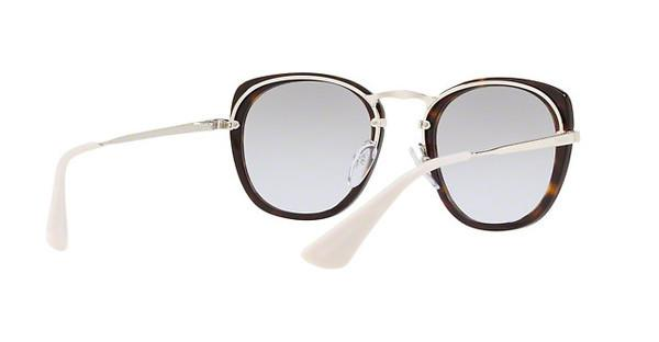 PRADA Prada Damen Sonnenbrille » PR 58US«, braun, 2AU210 - braun/silber