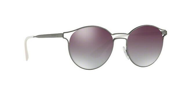 PRADA Prada Damen Sonnenbrille »CINEMA PR 62SS«, grau, 5AV6T2 - grau/silber
