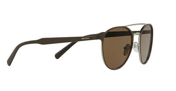 PRADA Prada Herren Sonnenbrille » PR 62TS«, braun, LAH9L1 - braun/braun
