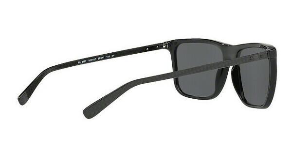 Ralph Lauren Herren Sonnenbrille » RL8157«, schwarz, 500187 - schwarz/grau