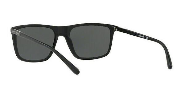 Ralph Lauren Herren Sonnenbrille » RL8161«, schwarz, 565387 - schwarz/grau