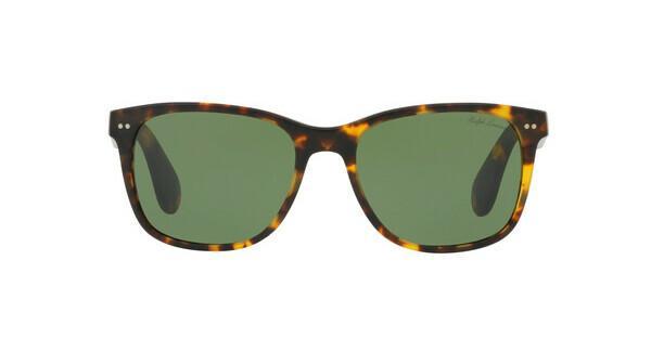 Ralph Lauren Herren Sonnenbrille » RL8162P«, braun, 513452 - braun/grün