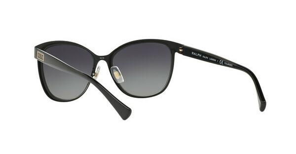 RALPH Ralph Damen Sonnenbrille » RA4118«, schwarz, 31808G - schwarz/grau