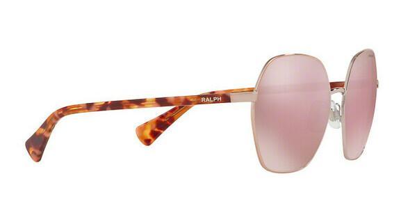 RALPH Ralph Damen Sonnenbrille » RA4124«, rosa, 90951T - rosa/ gold