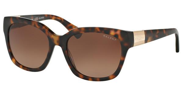 RALPH Ralph Damen Sonnenbrille » RA5221«, braun, 1585T5 - braun/braun