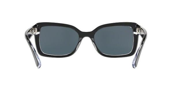 RALPH Ralph Damen Sonnenbrille » RA5239«, schwarz, 170187 - schwarz/ grau