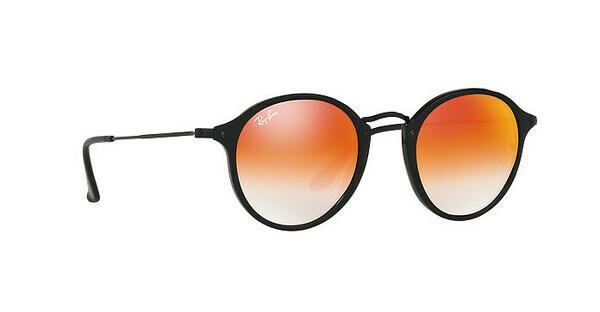 RAY BAN RAY-BAN Sonnenbrille »Round/classic RB2447«, schwarz, 901/4W - schwarz/rot