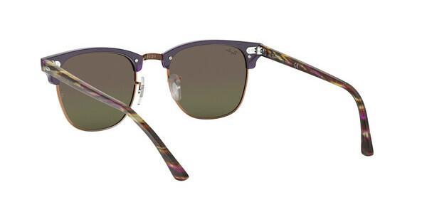 RAY BAN RAY-BAN Sonnenbrille »CLUBMASTER RB3016«, grau, 1222C2 - grau/mehrfarbig