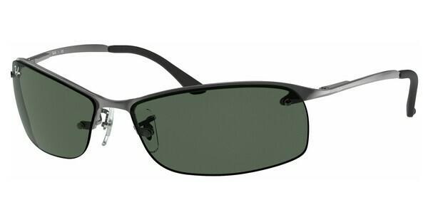RAY BAN RAY-BAN Herren Sonnenbrille » RB3183«, grau, 004/71 - grau/grün