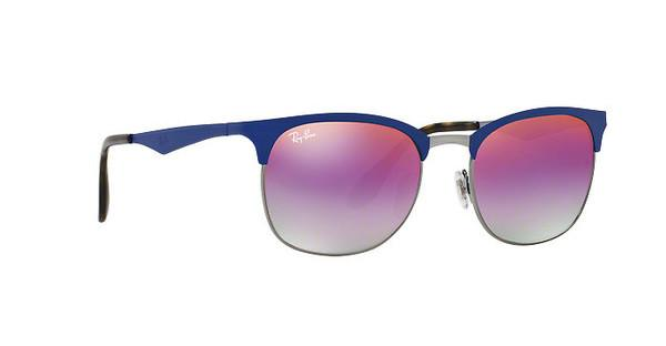 RAY BAN RAY-BAN Herren Sonnenbrille » RB3538«, blau, 9005A9 - blau/ mehrfarbig