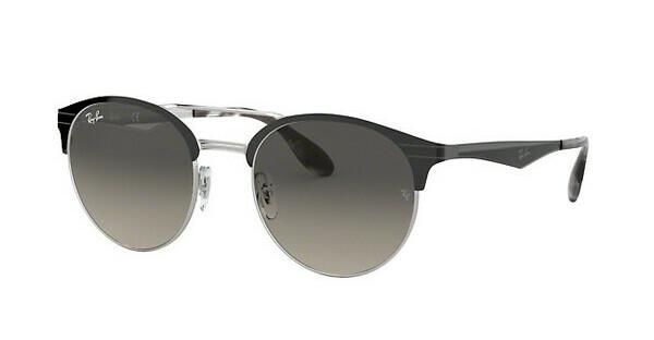 Ray-Ban RB3545 Sonnenbrille Schwarz / Silber 900411 51mm bfCWXu12