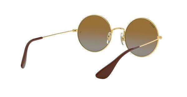 Ray-Ban RB3592 Sonnenbrille Gold 001/T5 Polarisiert 55mm 3FjBYX