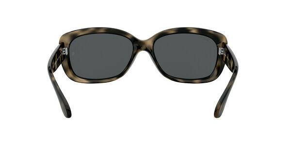 RAY BAN RAY-BAN Damen Sonnenbrille »JACKIE OHH RB4101«, grau, 731/81 - grau/grau