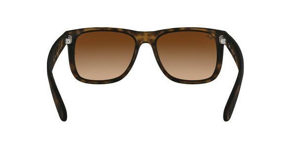 ray ban sonnenbrille justin uv400 braun havanna