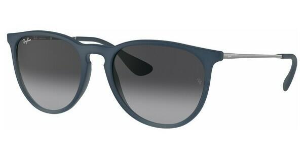 RAY BAN RAY-BAN Damen Sonnenbrille »ERIKA RB4171«, blau, 60028G - blau/grau