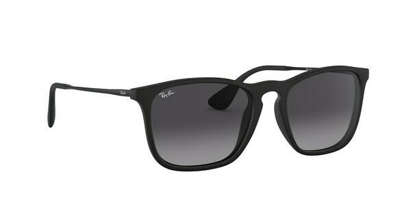 RAY BAN RAY-BAN Herren Sonnenbrille »CHRIS RB4187«, schwarz, 631611 - schwarz/grau