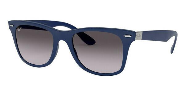 Ray Ban Ray-Ban Herren Sonnenbrille »wayfarer Liteforce Rb4195«, Grau, 633211 - Grau/grau