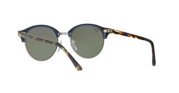 RAY BAN RAY-BAN Sonnenbrille »Clubround RB4246«, grau, 1221C3 - grau/mehrfarbig