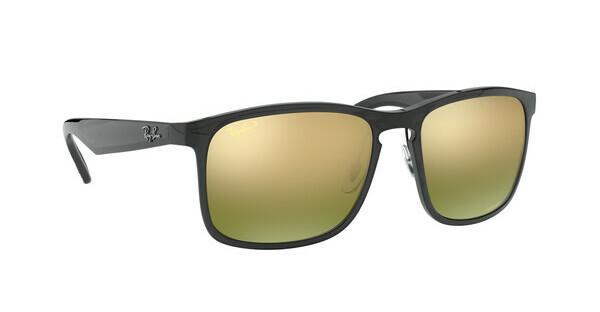 RAY BAN RAY-BAN Herren Sonnenbrille » RB4264«, grau, 876/6O - grau/ grün