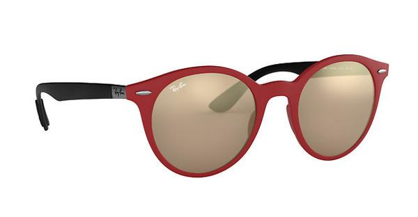 RAY BAN RAY-BAN Sonnenbrille » RB4296«, rot, 63455A - rot/gold