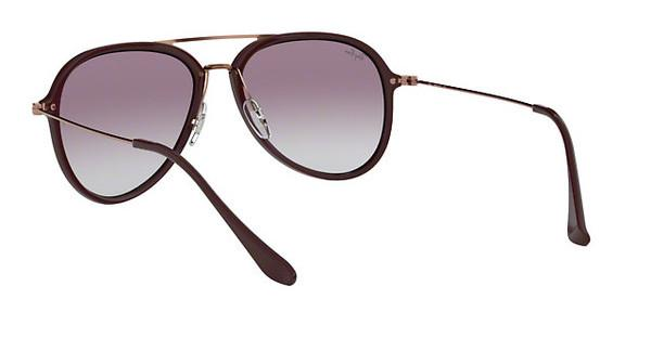 RAY BAN RAY-BAN Sonnenbrille » RB4298«, braun, 6335S5