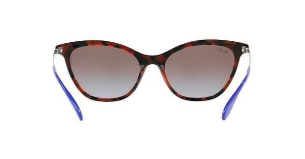 RAY BAN RAY-BAN Damen Sonnenbrille » RB4360«, lila, 123668 - lila/ braun