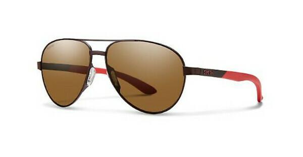Smith Herren Sonnenbrille » SALUTE«, braun, 4IN/SP - braun/braun