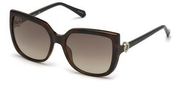 Swarovski Damen Sonnenbrille » SK0166«, braun, 52F - braun/braun