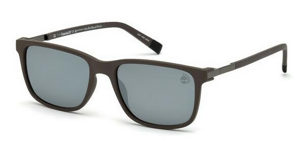 Timberland Herren Sonnenbrille » TB9152«, braun, 52R - braun/grün