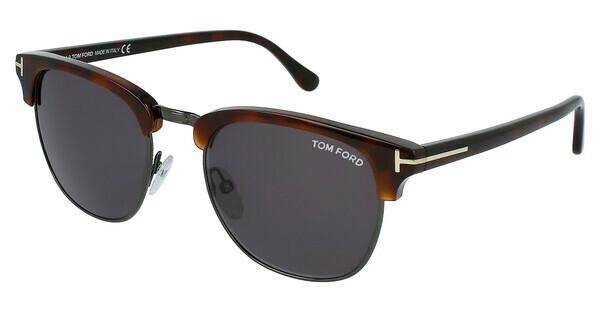 Tom Ford Herren Sonnenbrille »Henry FT0248«, braun, 52A - braun/grau