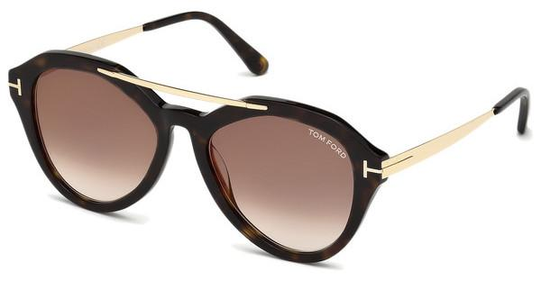 Tom Ford Damen Sonnenbrille » FT0576«, braun, 52G - braun/braun