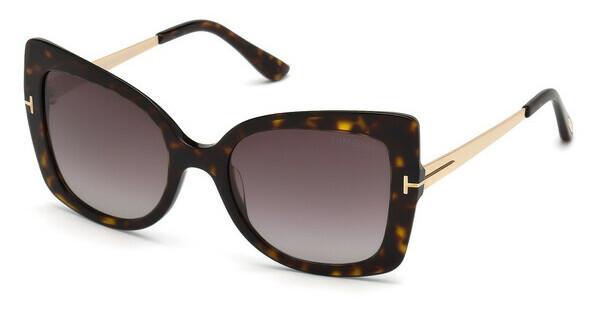Tom Ford Damen Sonnenbrille » FT0616«, schwarz, 01C - schwarz/grau