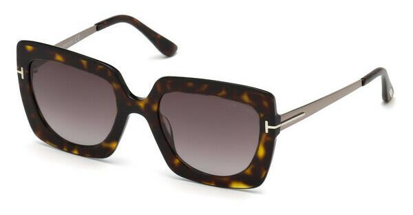 Tom Ford Damen Sonnenbrille » FT0609«, braun, 52T - braun/rot