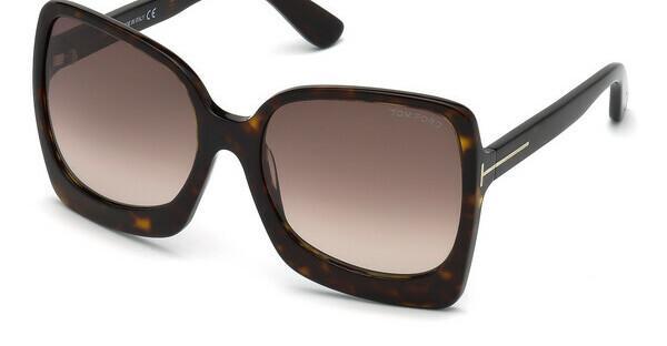 Tom Ford Damen Sonnenbrille » FT0611«, braun, 52T - braun/rot