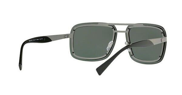 Versace Herren Sonnenbrille » VE2174«, grau, 100171 - grau/grün