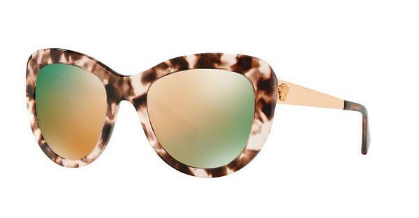 Versace Damen Sonnenbrille » VE4325«, rosa, 52534Z - rosa/ gold