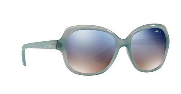 VOGUE Vogue Damen Sonnenbrille » VO2871S«, blau, 26087B - blau/silber