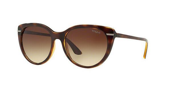 VOGUE Vogue Damen Sonnenbrille » VO2669S«, braun, W65613 - braun/braun