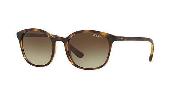 VOGUE Vogue Damen Sonnenbrille » VO5195S«, braun, W65613 - braun/braun