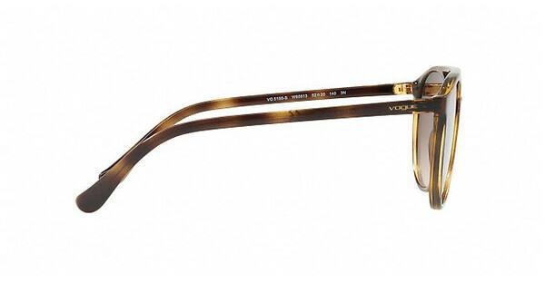VOGUE Vogue Damen Sonnenbrille » VO5195S«, rosa, 25955R - rosa/ gold