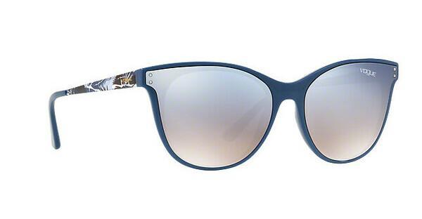 VOGUE Vogue Damen Sonnenbrille » VO5205S«, schwarz, 24167B - schwarz/silber