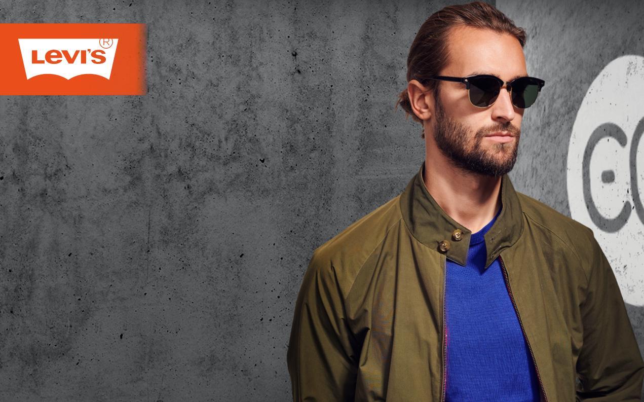 Men's browline sunglasses